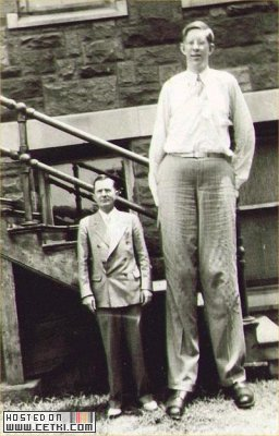 Robert Pershing Wadlow TALLEST MAN