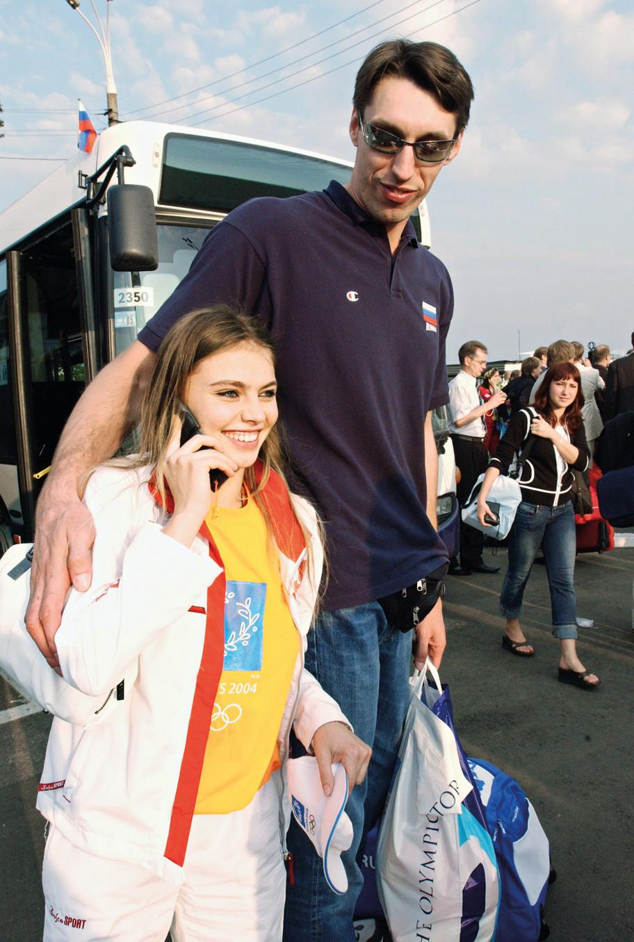 Станислав Динейкин и Алина Кабаева