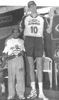 Станислав Динейкин – 2,15 м