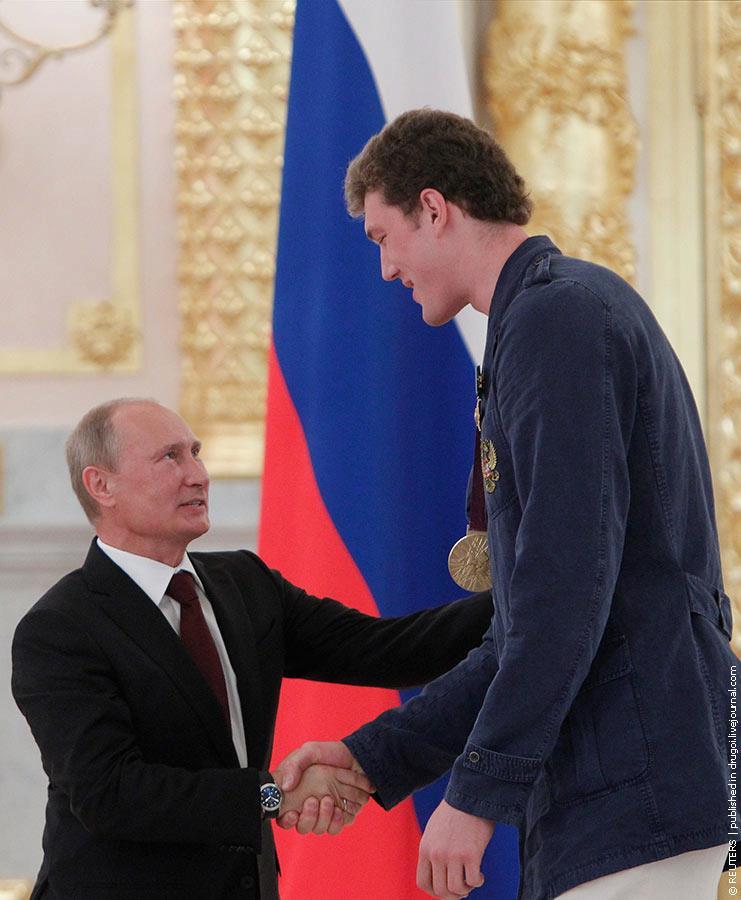 Дмитрий Мусэрский и Владимир Путин