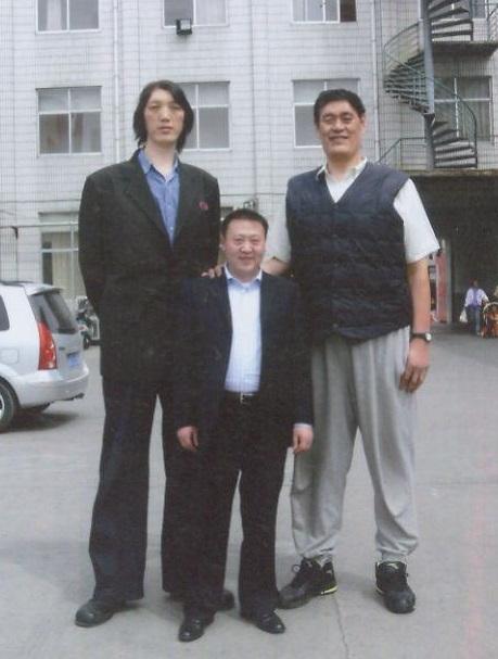 Хуан Чан-Чу 231 см и Му Ти Жу 230 см