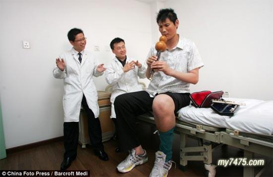 очень высокий китаец Жао Лиань - 2,27