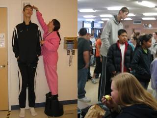 самый высокий подросток