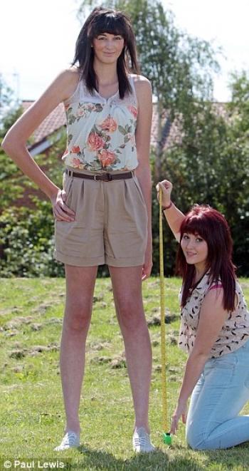 самые длинные ноги в мире