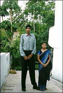 Джитендра Сингх 231 см