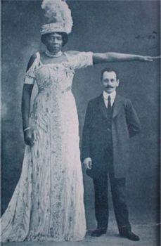 tallest negro woman