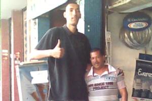 tallest man in Brazil
