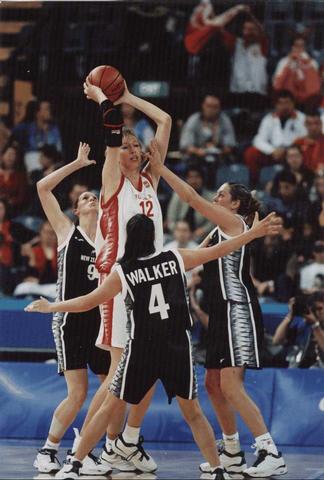 Самые высокие баскетболистки