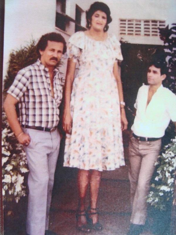 tallest brazilian woman Maria Feliciana - 210 cm