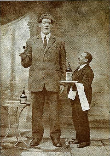 самые высокие люди