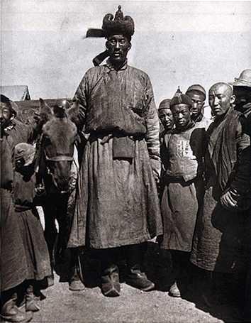 самый высокий монгол